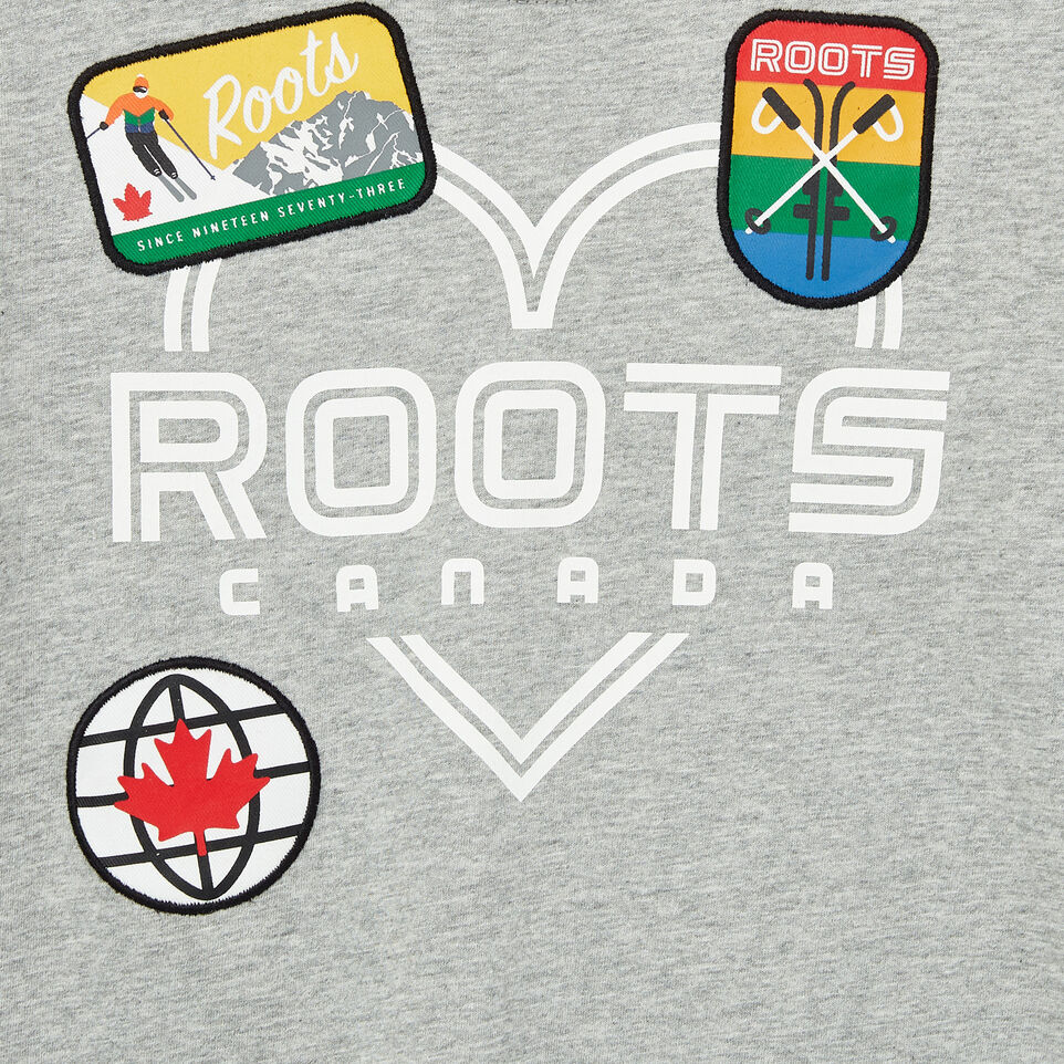Roots-undefined-Girls Ski Patch T-shirt-undefined-D