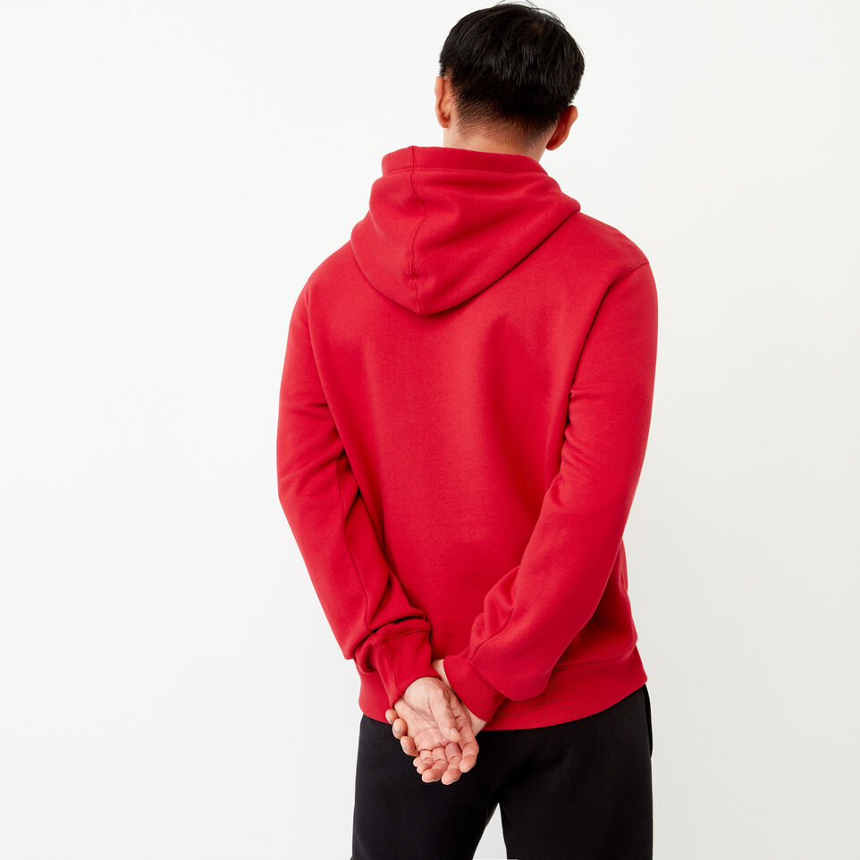 Roots-Men Our Favourite New Arrivals-Cooper Reflect Hoody-Lodge Red-E
