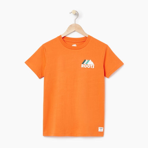 Roots-Women Our Favourite New Arrivals-Womens Gaspe T-shirt-Jaffa Orange-A