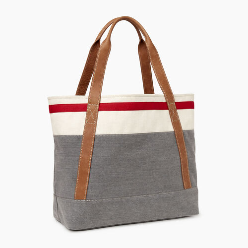 Roots-Women Our Favourite New Arrivals-Cabin Tote-Grey Oat Mix-A