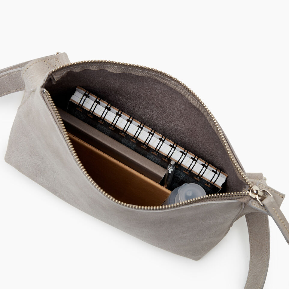 Roots-Women Leather-Journey Crossbody Tribe-Sterling Grey-D