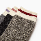 Roots-undefined-Kid Girl Sparkle Cabin Sock 3 Pack-undefined-C