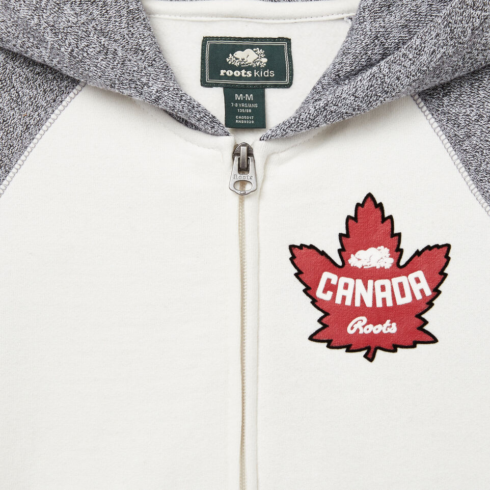 Roots-undefined-Girls Heritage Canada Full Zip Hoody-undefined-C