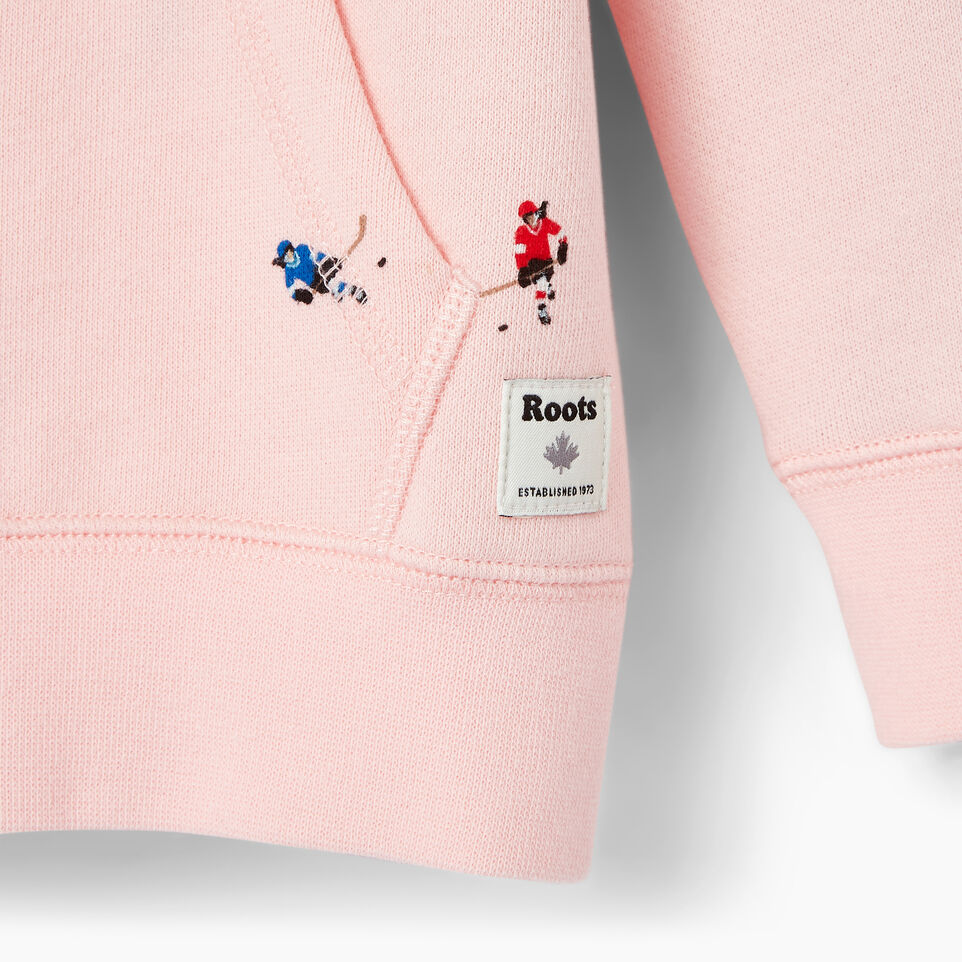 Roots-Kids Our Favourite New Arrivals-Toddler Skater Kanga Hoody-Light Pink-C