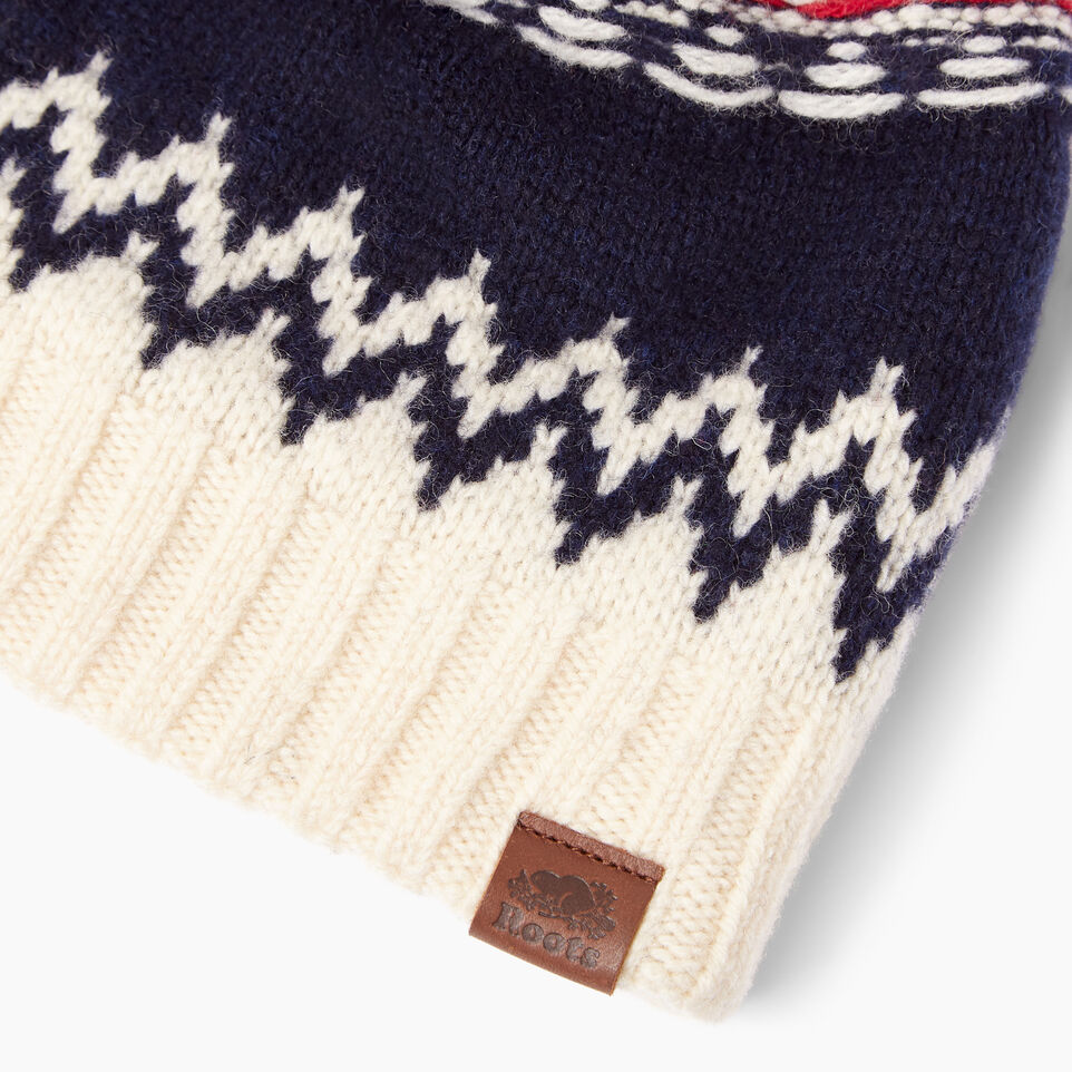 Roots-Women Our Favourite New Arrivals-Tundra Fair Isle Toque-Multi-E