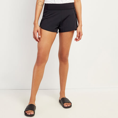 Roots-Women Shorts & Skirts-Journey Short-Black-A