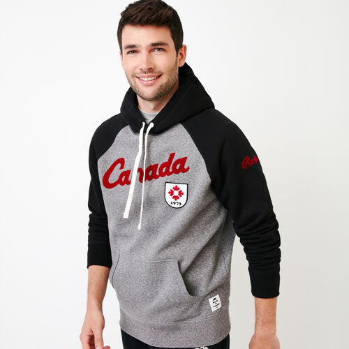 Roots-Men Our Favourite New Arrivals-Mens Canada Kanga Hoody-Grey Mix Pepper-A