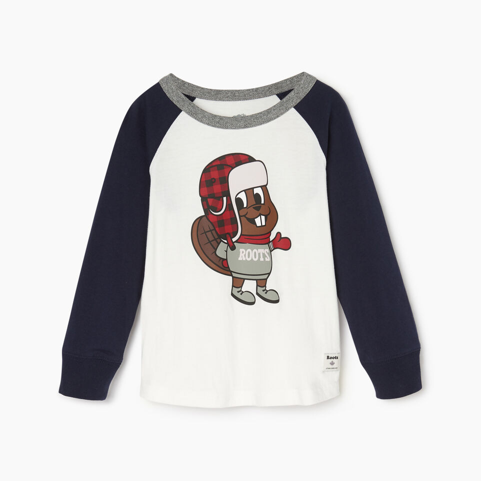 Roots-undefined-Toddler Buddy The Beaver T-shirt-undefined-A