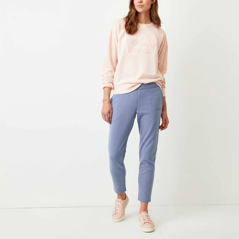Roots-Women Our Favourite New Arrivals-Weymouth Sweatpant-Stone Blue-B