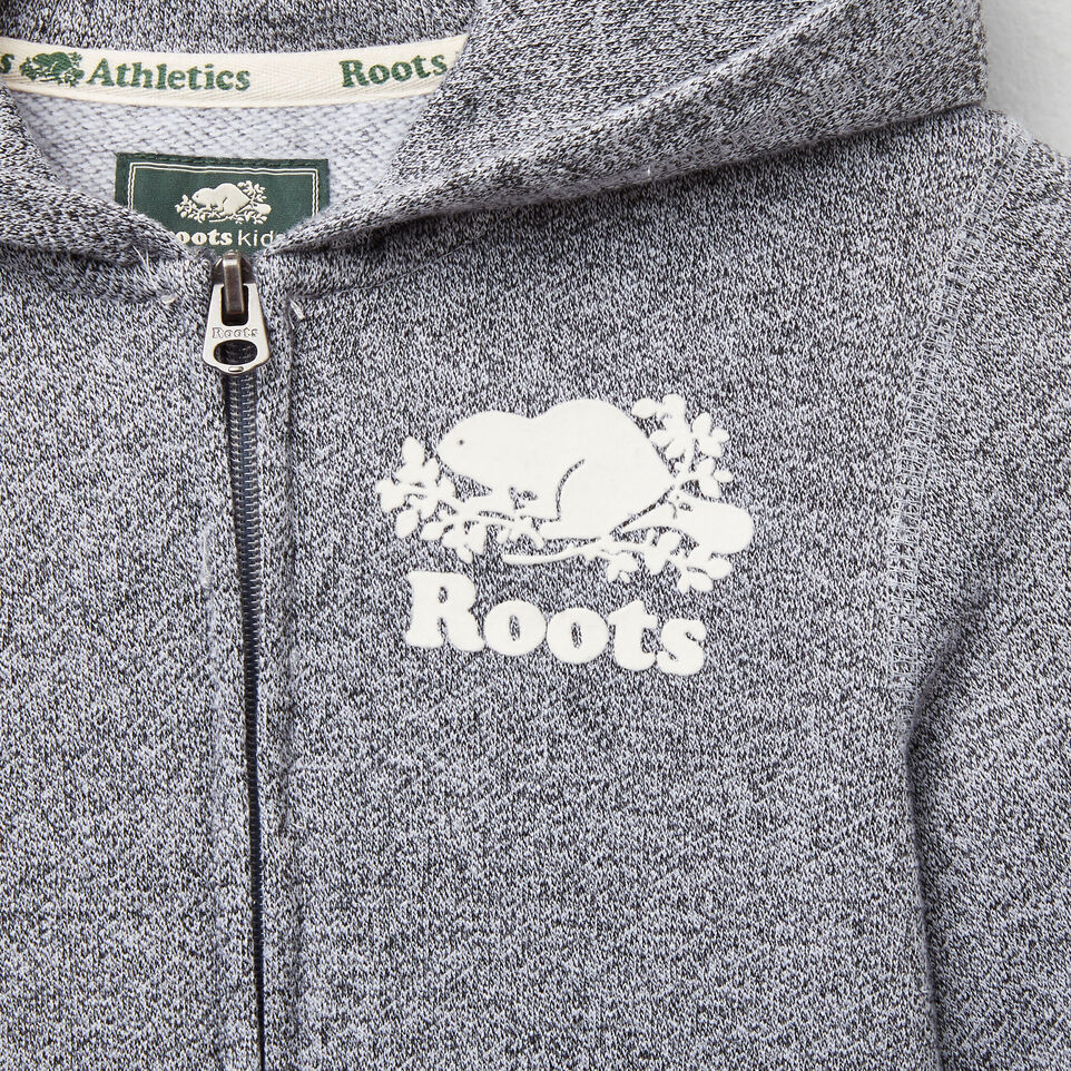 Roots-undefined-Girls Roots Salt and Pepper Original Full Zip Hoody-undefined-E