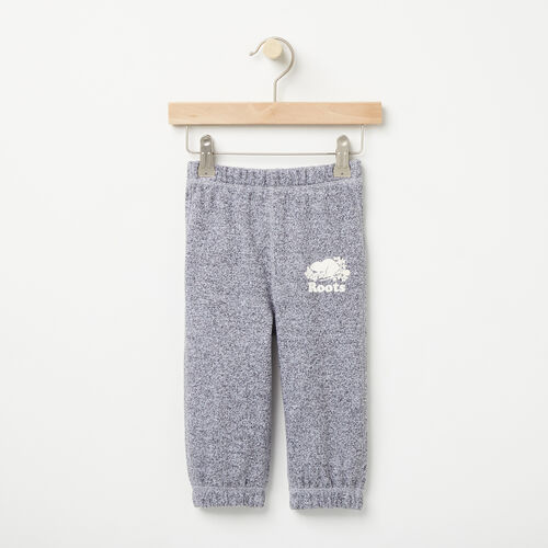 Roots-Kids Bottoms-Baby Original Sweatpant-Salt & Pepper-A