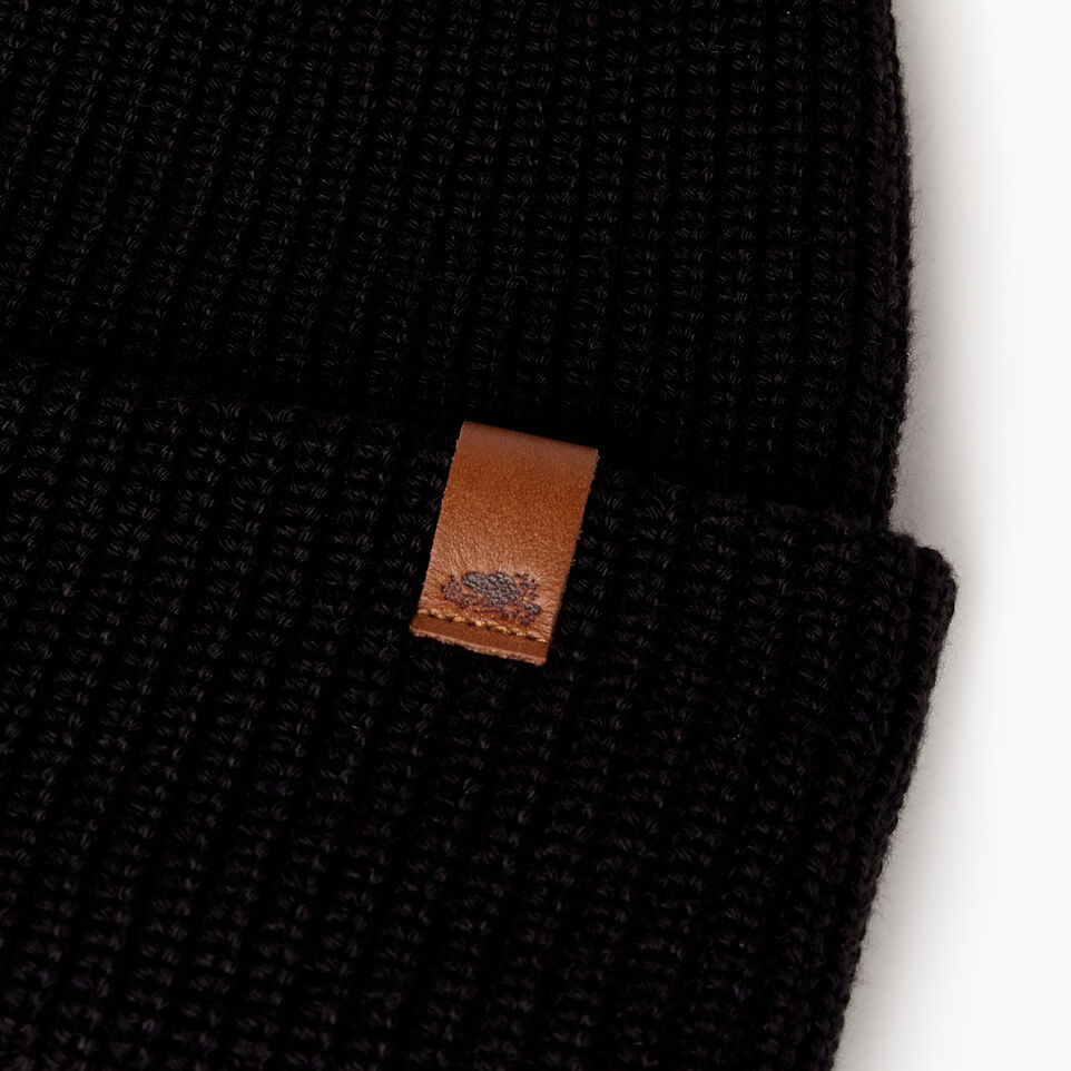 Roots-Men Categories-Hamilton Toque-Black-D