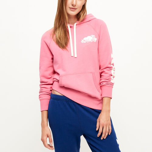 Roots-Sale Sweats-Remix Kanga Hoody-Azalea Pink-A