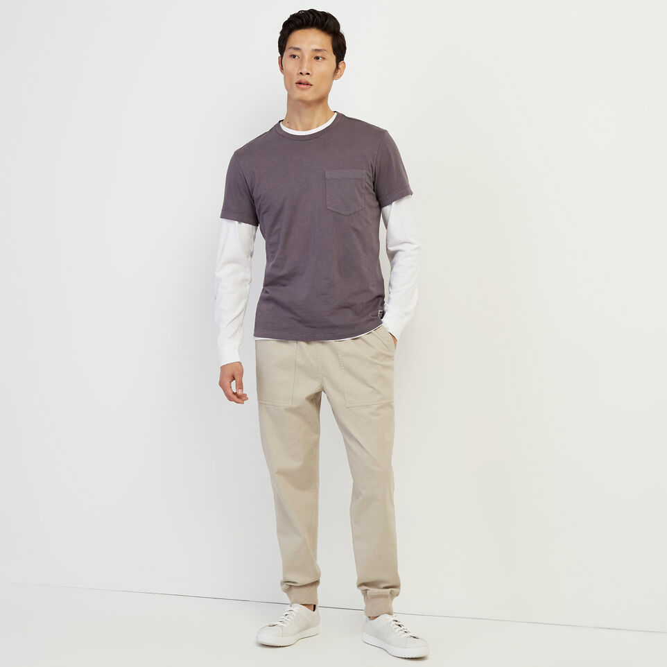 Roots-undefined-Essential Pocket T-shirt-undefined-B