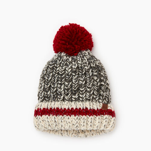 Roots-Kids Girls-Kids Chunky Cabin Toque-Grey Oat Mix-A