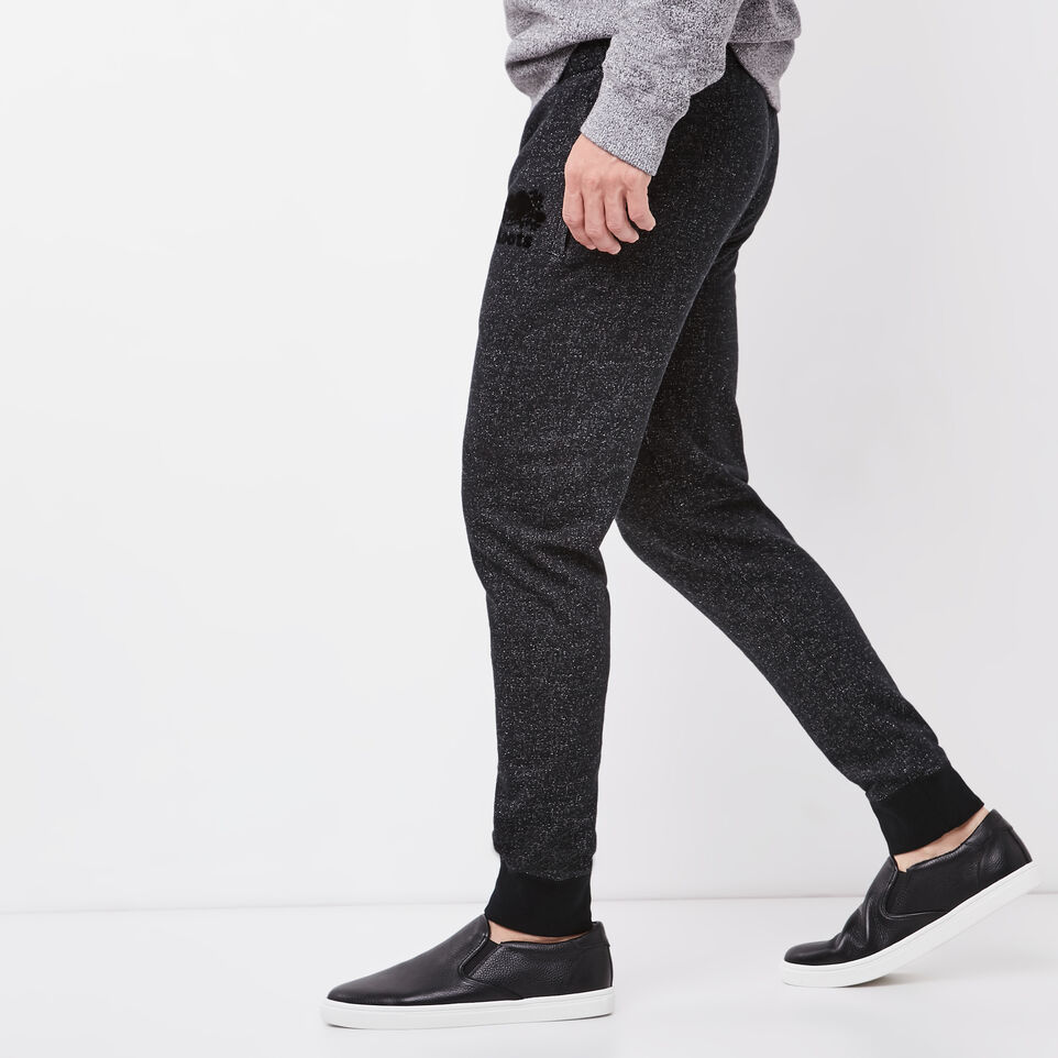 Roots-undefined-Roots Black Pepper Park Slim Sweatpant-undefined-B