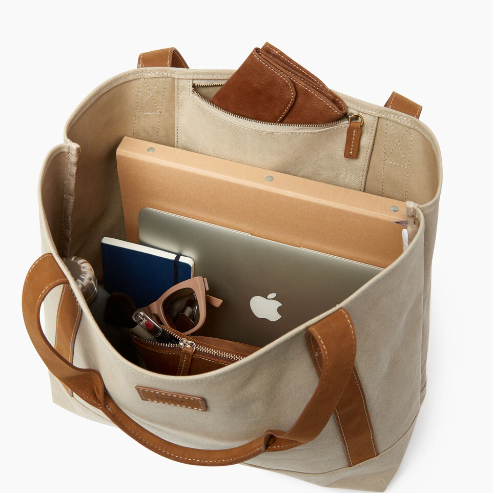 Roots-Women Our Favourite New Arrivals-Muskoka Tote Canvas-Natural-D