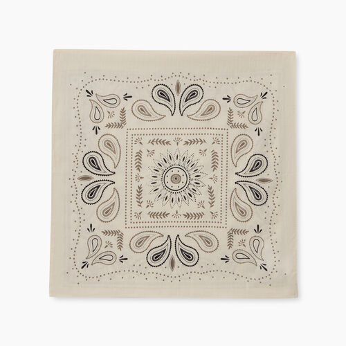 Roots-Women Our Favourite New Arrivals-Bandana Scarf-White-A