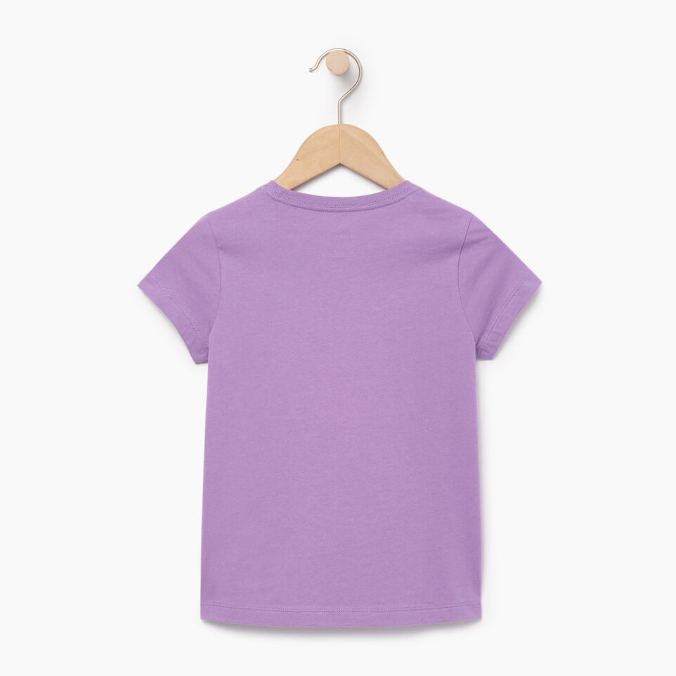 Roots-undefined-Girls Gradient Cooper T-shirt-undefined-B