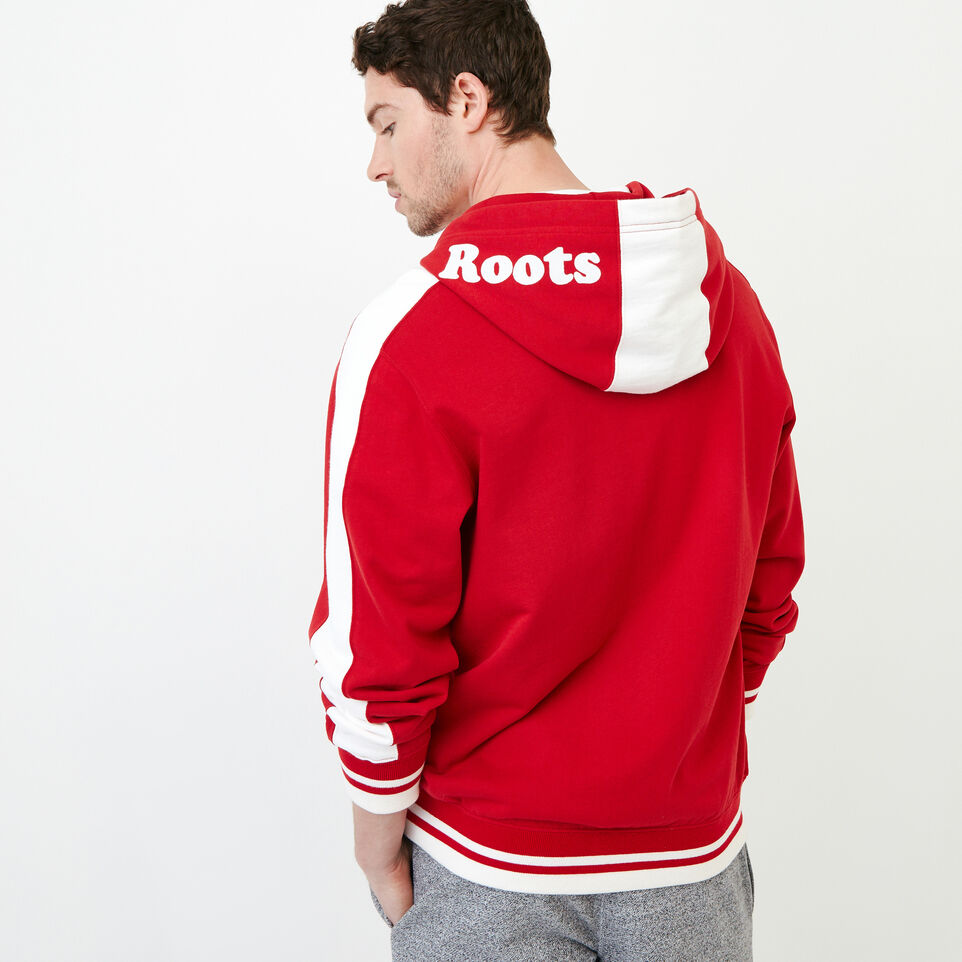 Roots-Men Our Favourite New Arrivals-Canada Zip Hoody-Sage Red-D