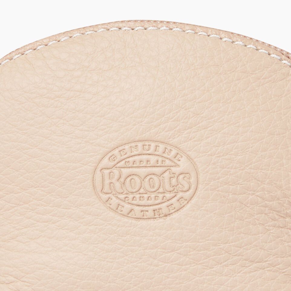 Roots-Clearance Leather-Small Euro Pouch-Pink Mist-E