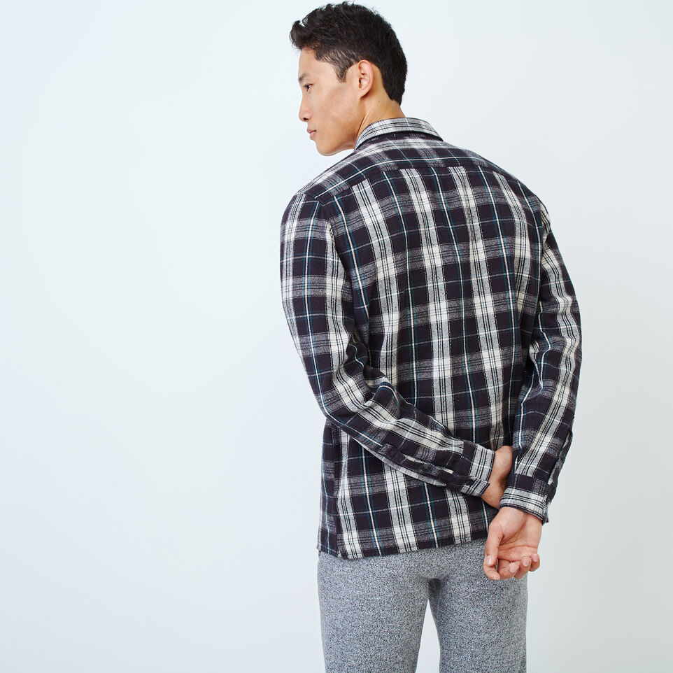 Roots-Men Our Favourite New Arrivals-Holt Flannel Overshirt-Phantom-D