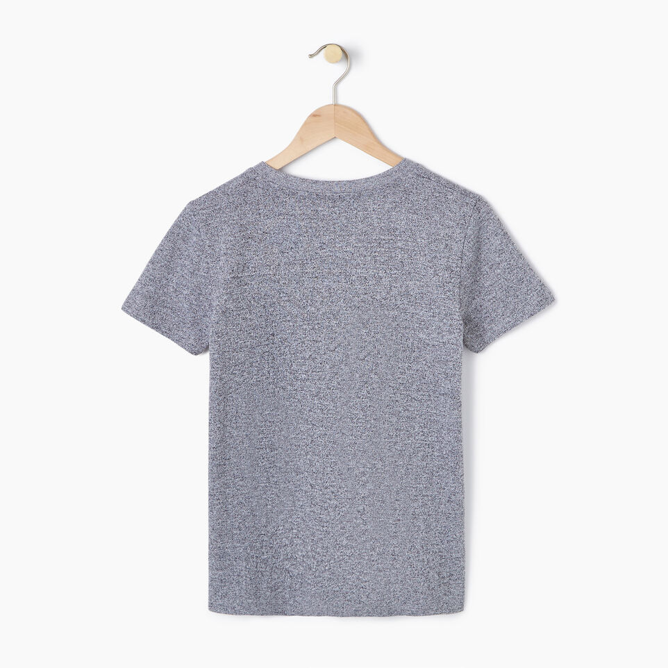 Roots-New For July Daily Offer-Womens Nanaimo V-neck T-shirt-Salt & Pepper-B