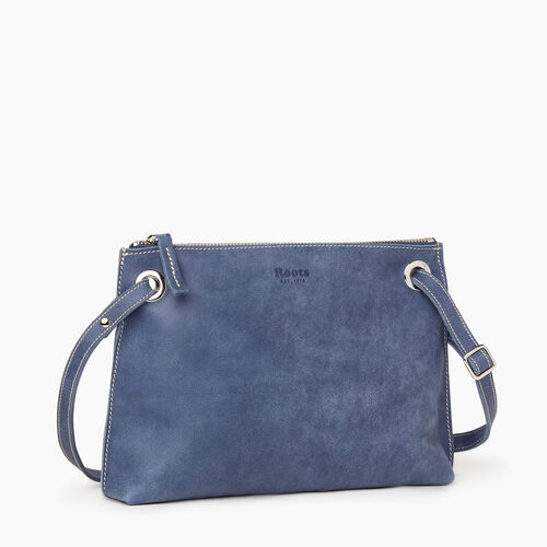 Roots-Leather New Arrivals-Edie Bag Tribe-Denim Blue-A