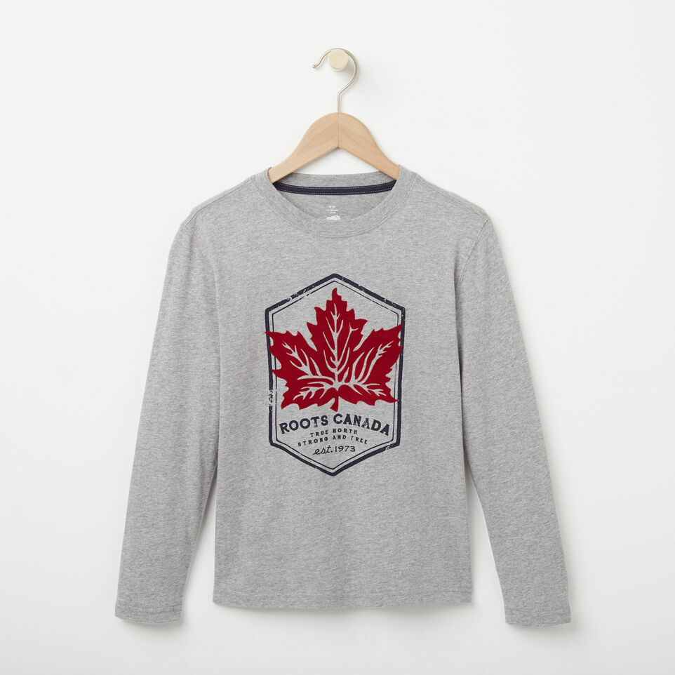 Roots-undefined-Boys True North Long Sleeve T-shirt-undefined-A