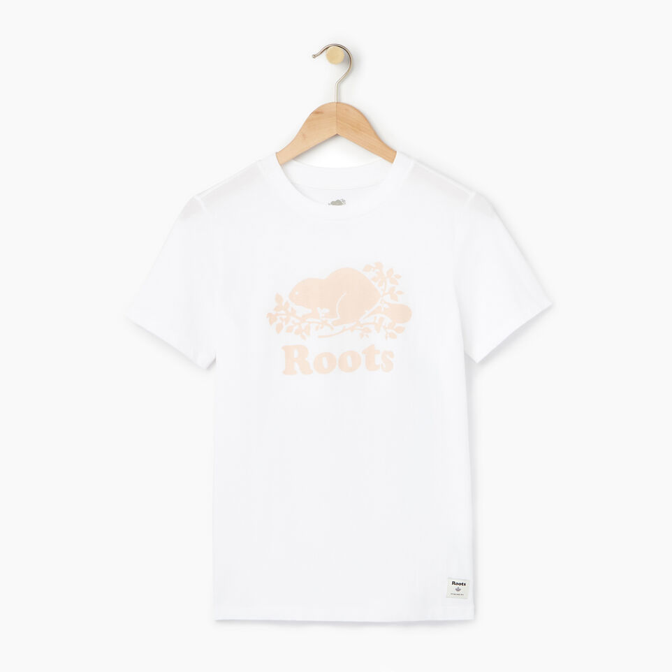 Roots-Women Our Favourite New Arrivals-Womens Cooper Beaver T-shirt-Cloudy White-A