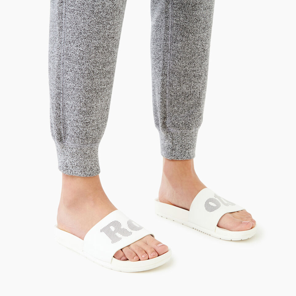 Roots-Footwear Our Favourite New Arrivals-Womens Long Beach Pool Slide-Pearl-B