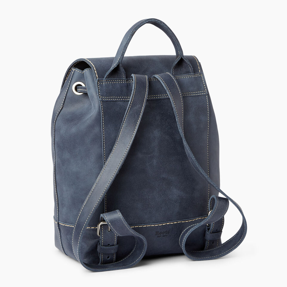 Roots-Leather Our Favourite New Arrivals-Sandbanks Pack-Navy-C