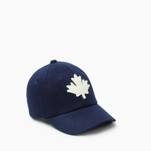 Roots-Kids New Arrivals-Toddler Canada Baseball Cap-Navy-A