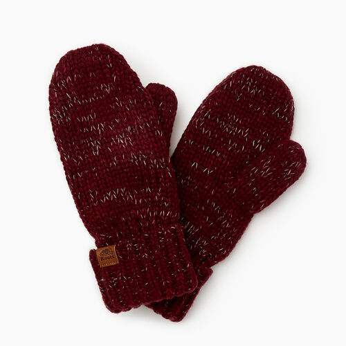Roots-Gifts Accessory Sets-Canmore Mitten-Mulberry Mix-A