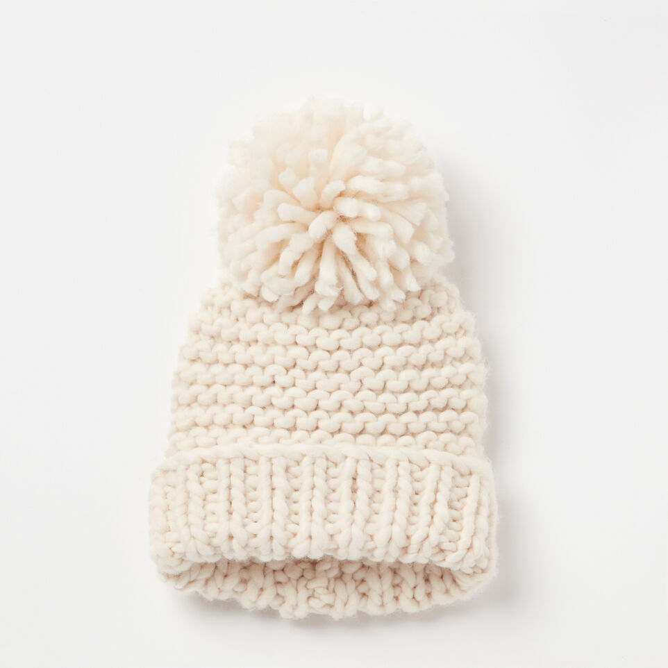 Roots-undefined-Delanie Chunky Pom Pom Toque-undefined-A