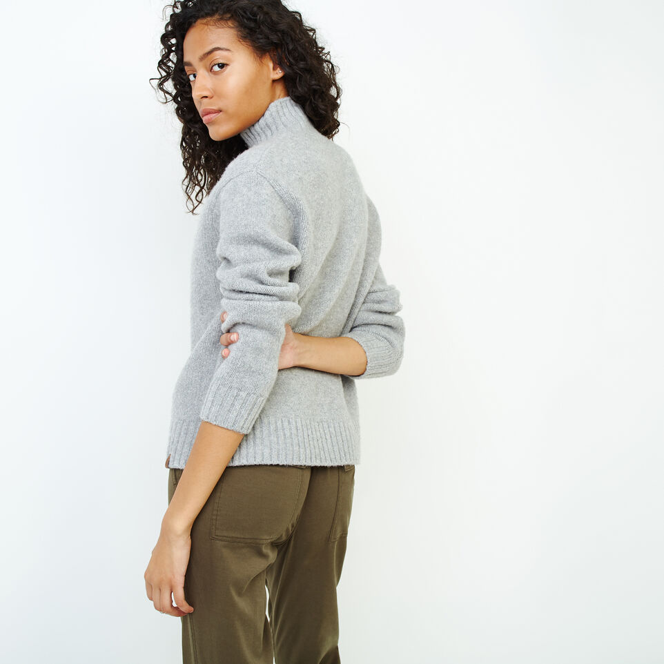 Roots-Women Categories-Nita Cable Sweater-Snowy Ice Mix-D