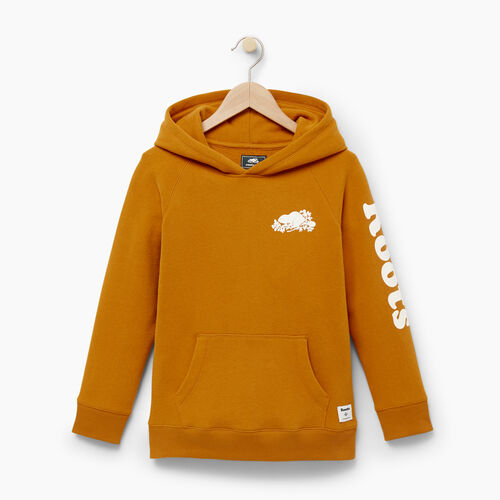 Roots-Winter Sale Boys-Boys Roots Remix Hoody-Lemieux Gold-A