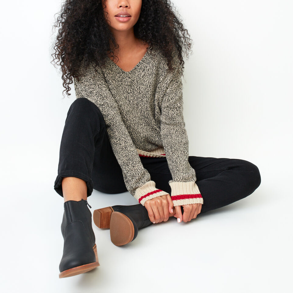 Roots-undefined-Roots Cotton Cabin V Neck Sweater-undefined-B