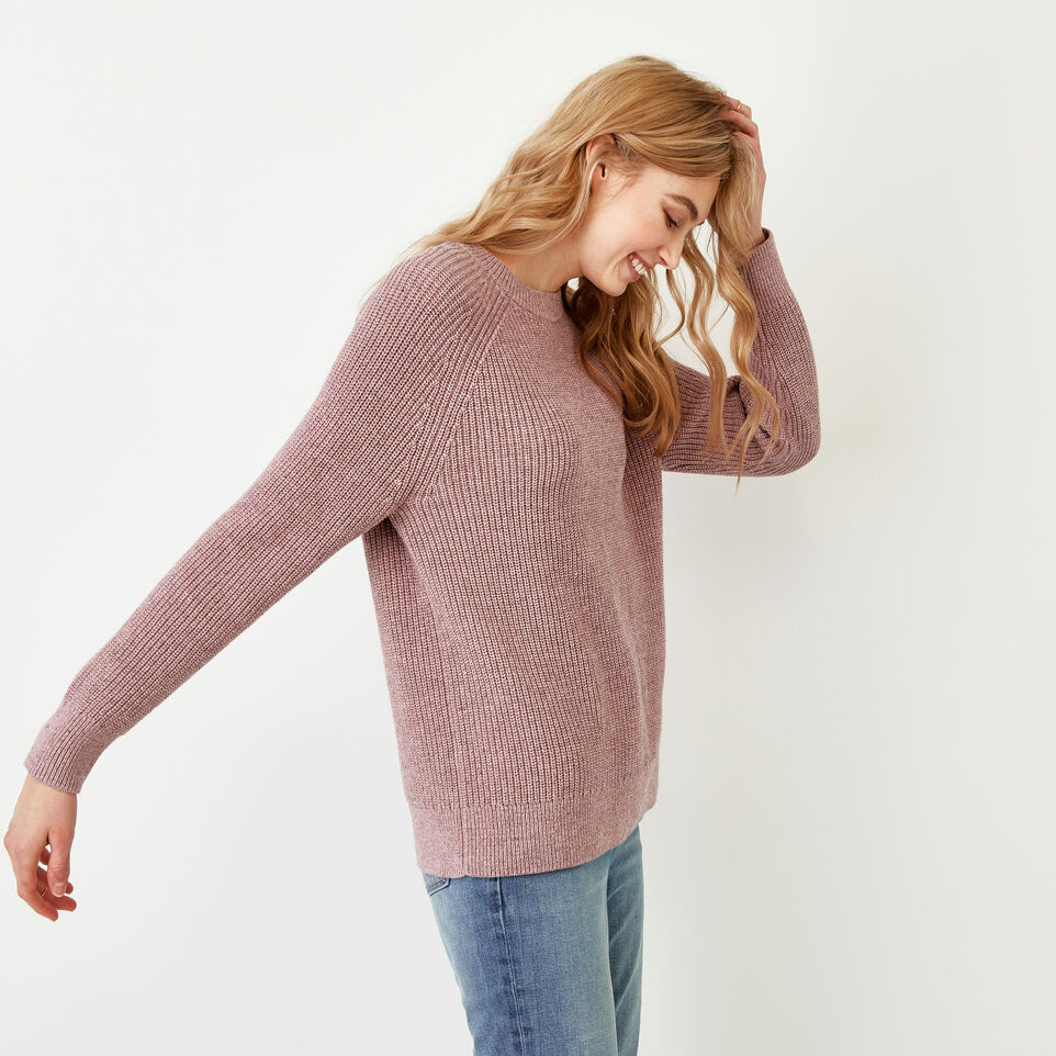 Roots-Women Our Favourite New Arrivals-Yukon Crew Sweater-Dark Lilas Mix-D