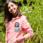 Roots-undefined-Girls Camp Patch Full Zip Hoody-undefined-C