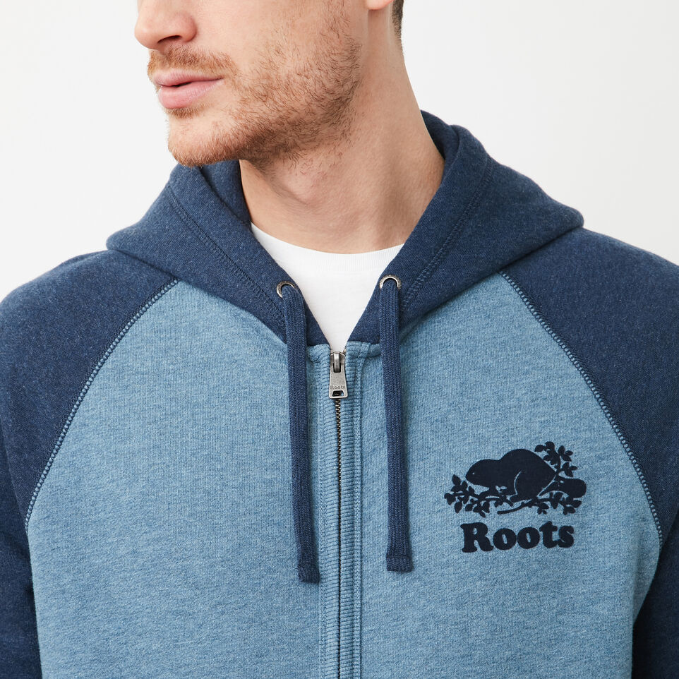Roots-undefined-Contrast Full Zip Hoody-undefined-C