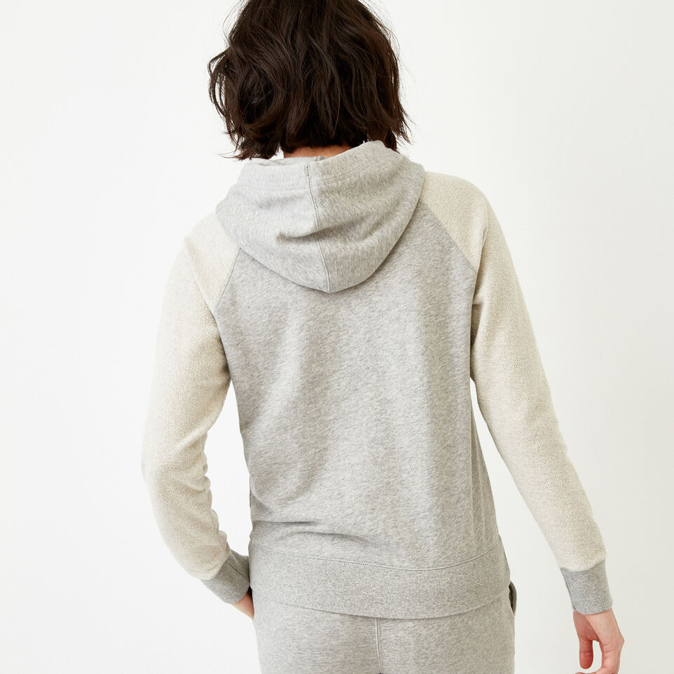 Roots-Women Our Favourite New Arrivals-Weymouth Hoody-Grey Mix-D