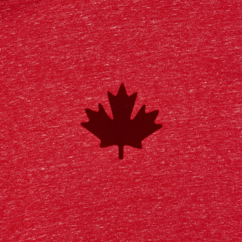 Roots-New For July Men-Mens Canada Cabin Ringer T-shirt-Sage Red Mix-D