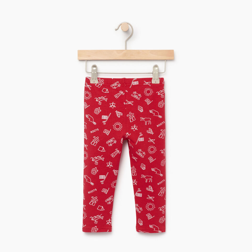 Roots-undefined-Toddler Canada Aop Legging-undefined-B