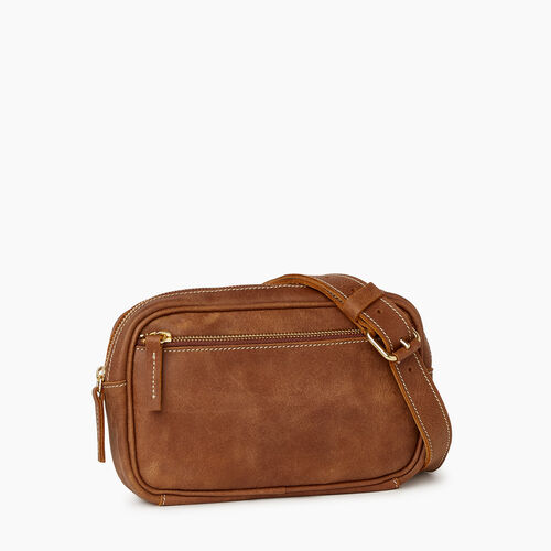 Roots-Leather  Handcrafted By Us Collections-Roots Belt Bag-Natural-A