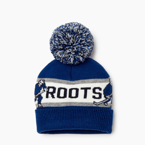 Roots-Sale Kids-Toddler Hockey Toque-Blue-A