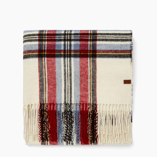 Roots-Women Accessories-Elkwater Scarf-Multi Plaid-A