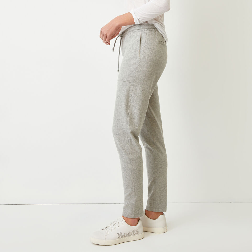 Roots-Women Our Favourite New Arrivals-Kelby Jogger-Grey Mix-C