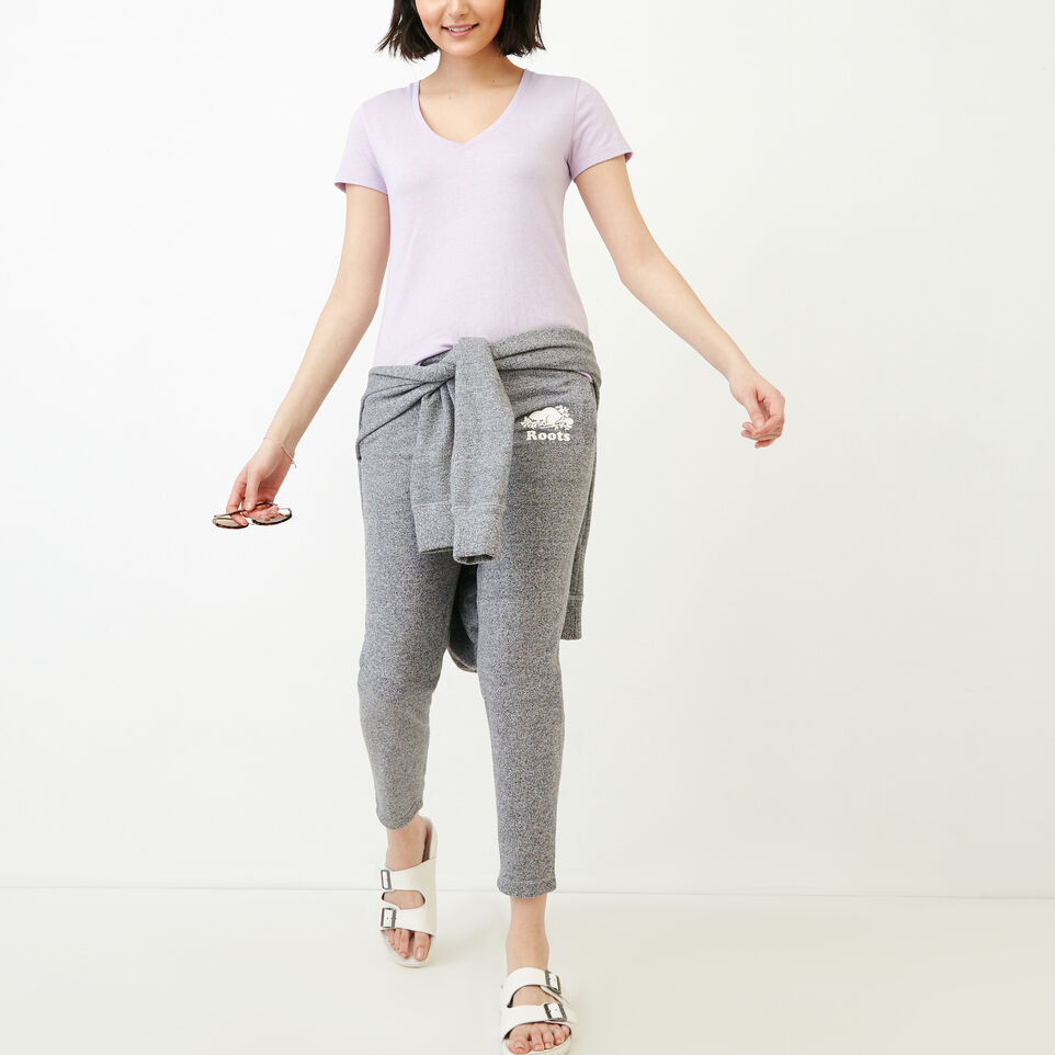 Roots-undefined-Easy Ankle French Terry Sweatpant-undefined-B