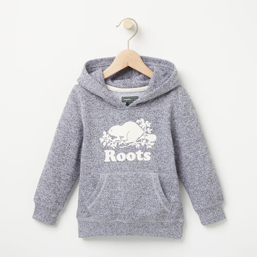 Roots-Kids Tops-Toddler Original Kanga Hoody-Salt & Pepper-A
